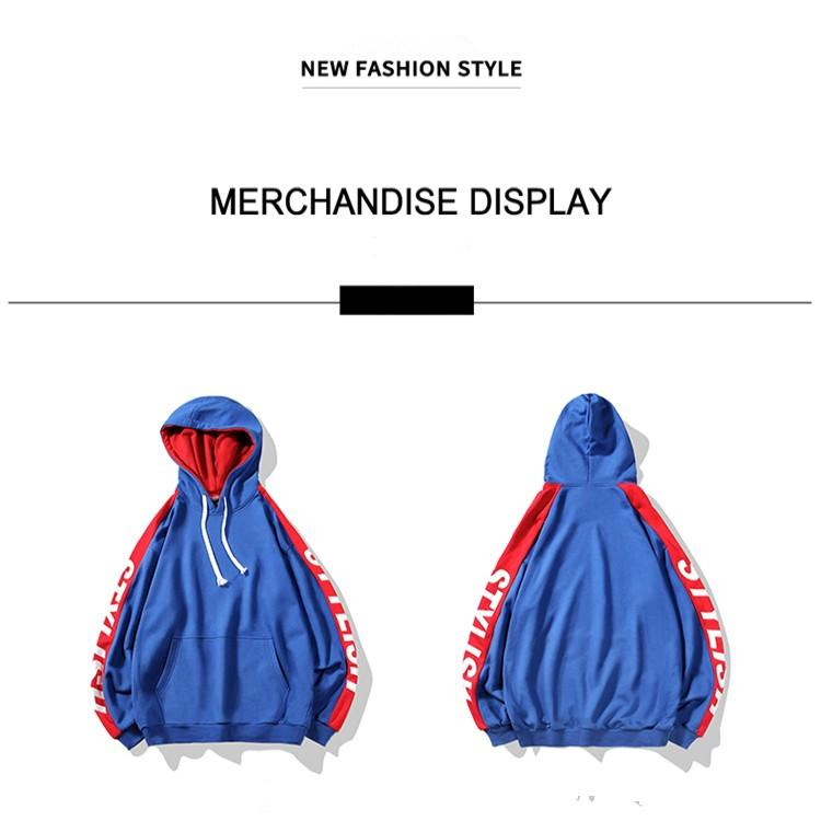 2019 Erkek Tasarımcı Kapüşonlular Kadınlar için Günlük Moda Stil Harf Baskı Pamuk Kapşonlu Triko Marka Kapüşonlular 4 Renkler Asya Boyut M-3XL ile