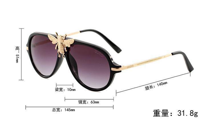 High Quality Classic Pilot Sunglasses Designer Brand Mens Womens Sun Glasses Eyewear Gold Metal Green 52mm 60mm Glass Lenses Brown Case