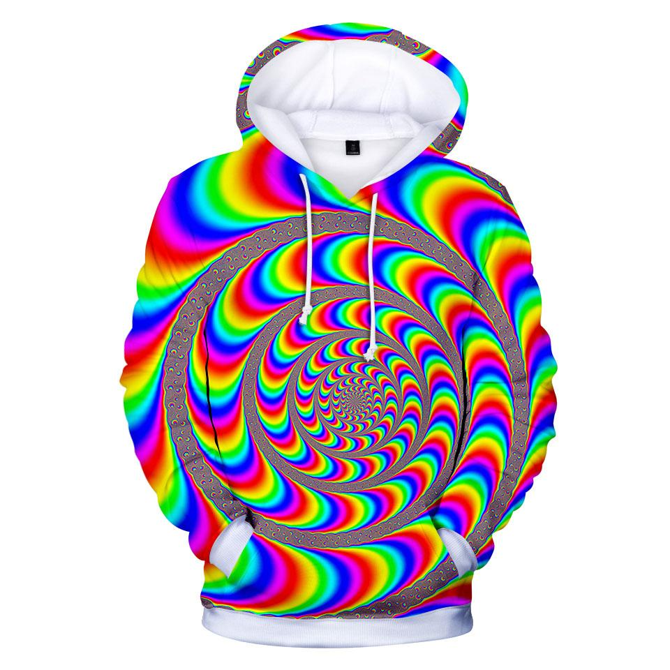 fashion design Tie Dyeing Colorful print 3d hoodies pullover men women Hoodie hoody casual Long Sleeve 3D Hooded Sweatshirts top