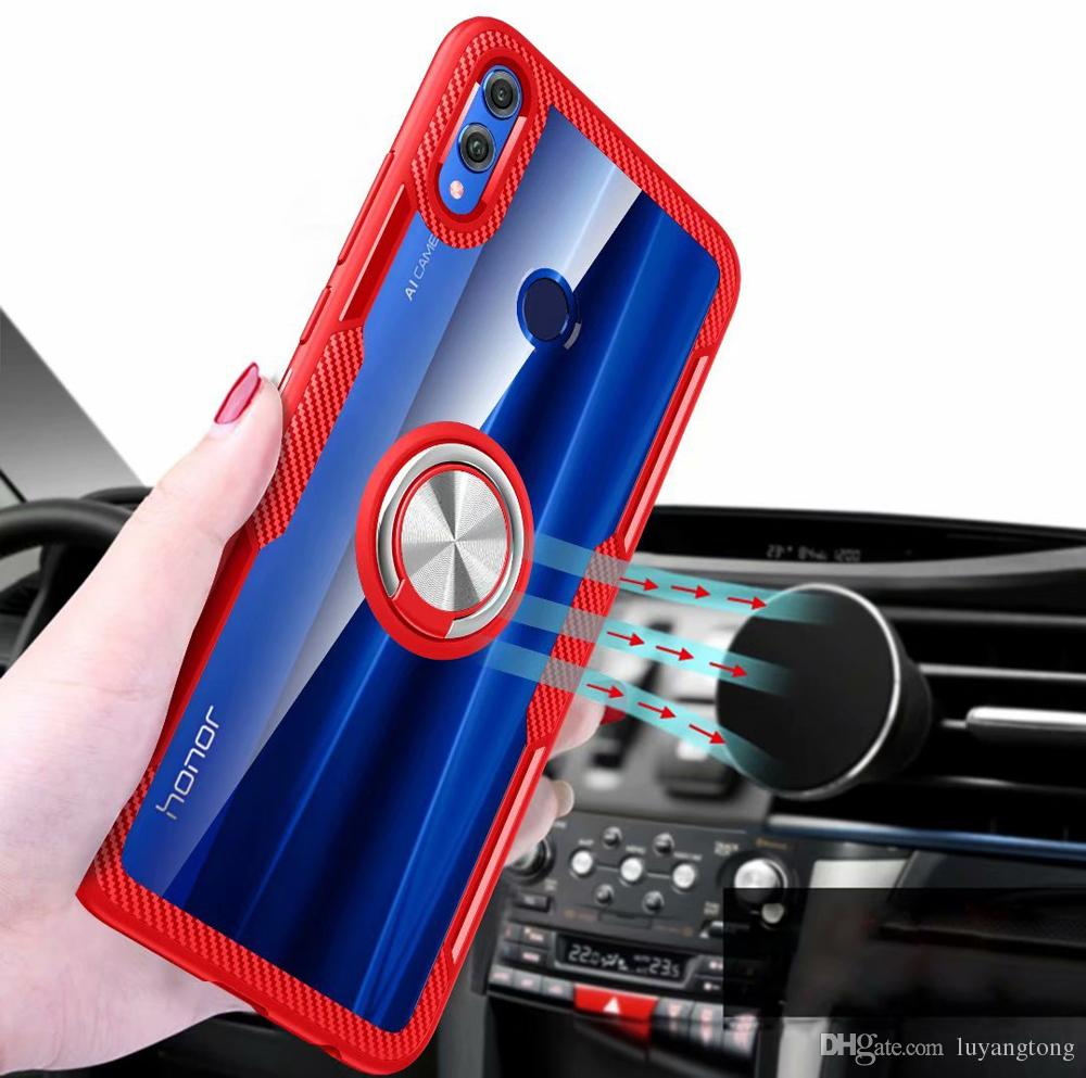 For Huawei Honor 8X Case Car Holder Stand Magnetic Suction Bracket Mobile  Phone Accessories Parts Cover Mate 20 Pro P20 Lite 7X P20 Pro Cool Cell
