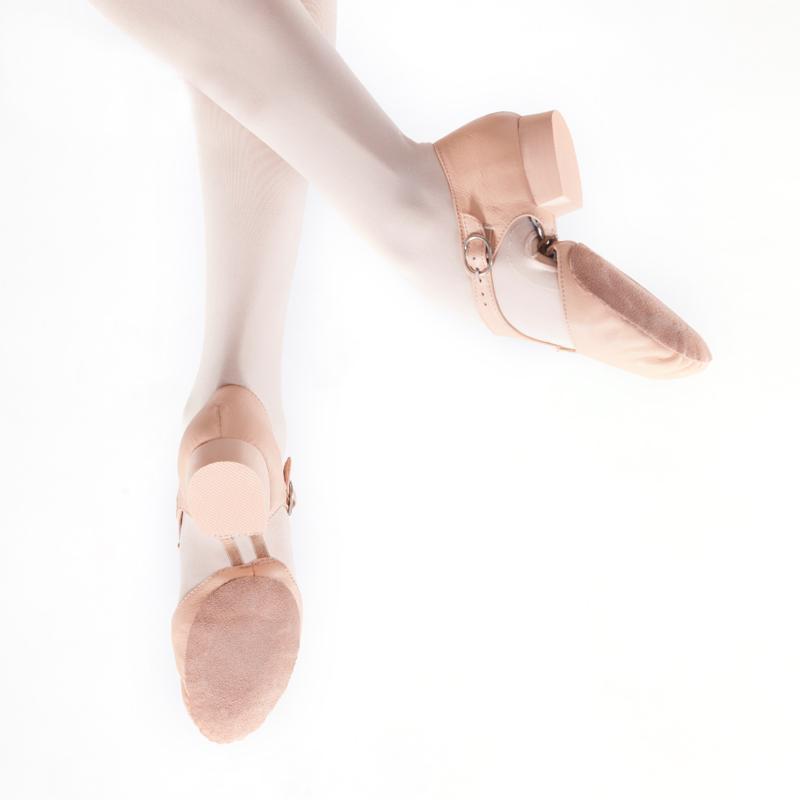 Femmes Ballet Chaussures de danse en cuir véritable stretch Jazz Dance Chaussures Sandales Teachers plage Excercise