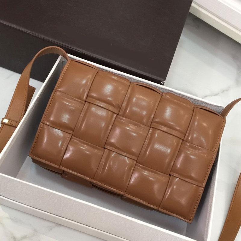 Sac à main Sacs à main bandoulière Messenger Bag Mode ordinaire crochet Sacs à bandoulière en cuir véritable Plaid de haute qualité Livraison gratuite