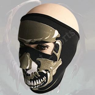 Nuevo modelo del cráneo de la mascarilla del partido de los colores del traje de Halloween al aire libre Moto Mantenga Máscaras Bufanda Ski Snowboard Deportes cálidos ZZA1477-2