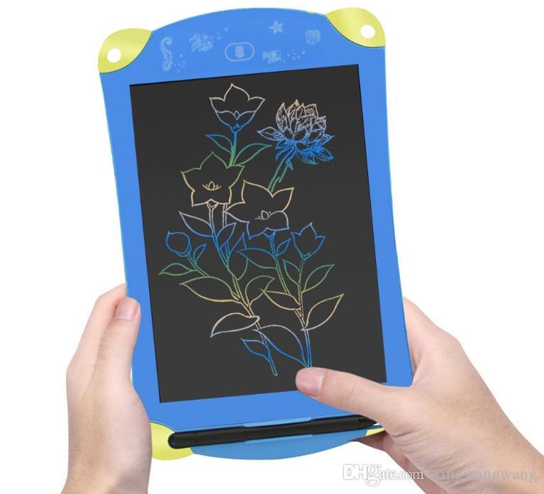2020 NEW اللون LCD الكتابة اللوحي الرقمية المحمولة 8.5 بوصة رسم وحي الكتابة اليدوية وسادات مجلس اللوحي الإلكترونية للبالغين أطفال الأطفال