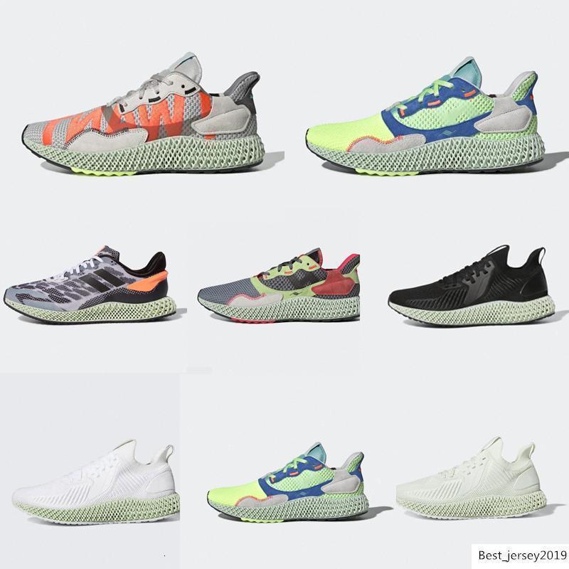 Nuevo 2020 de calidad superior Alphaedge 4D Parley blanca Aero verde Futurecraft LTD zapatos corrientes para los hombres diseñador de las mujeres Formadores Deporte Sneaker86d8 #
