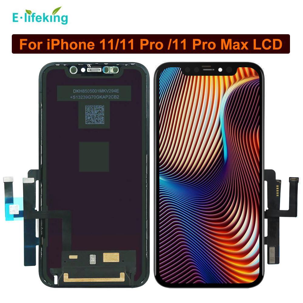 ZY الشاشة للحصول على اي فون 11 11 برو برو 11 ماكس العرض LCD الأصل شاشة تعمل باللمس محول الأرقام الجمعية OEM استبدال أعلى جودة للحصول على X11