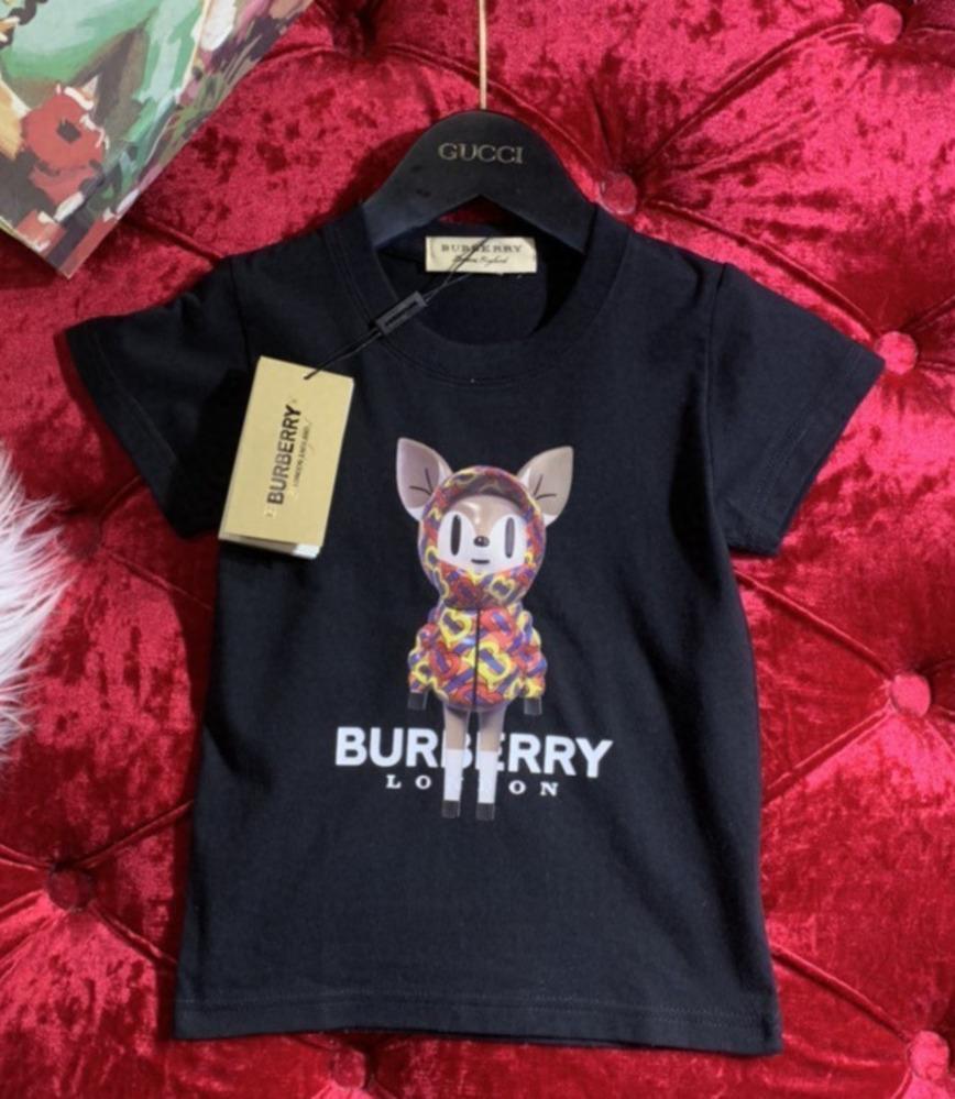 Junge und Mädchen-Sommer-New Product Short Sleeve Kinder nette T-Shirt Modetrend hohe Qualität animal print T-Shirt 031407