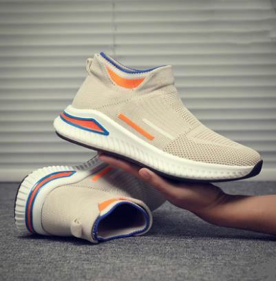 Printemps 2020 nouveau haut-top tendance sauvage chaussettes chaussures hommes de marée chaussures casual sport chaussures hommes