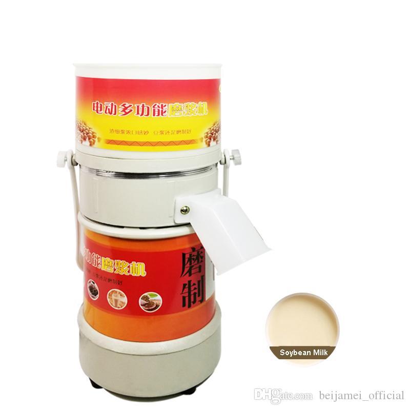 Pequeño al por mayor Comercial mantequilla de cacahuete de pasta de sésamo Grinder jarabe de arroz máquina eléctrica de soja Leche Máquina de pulido