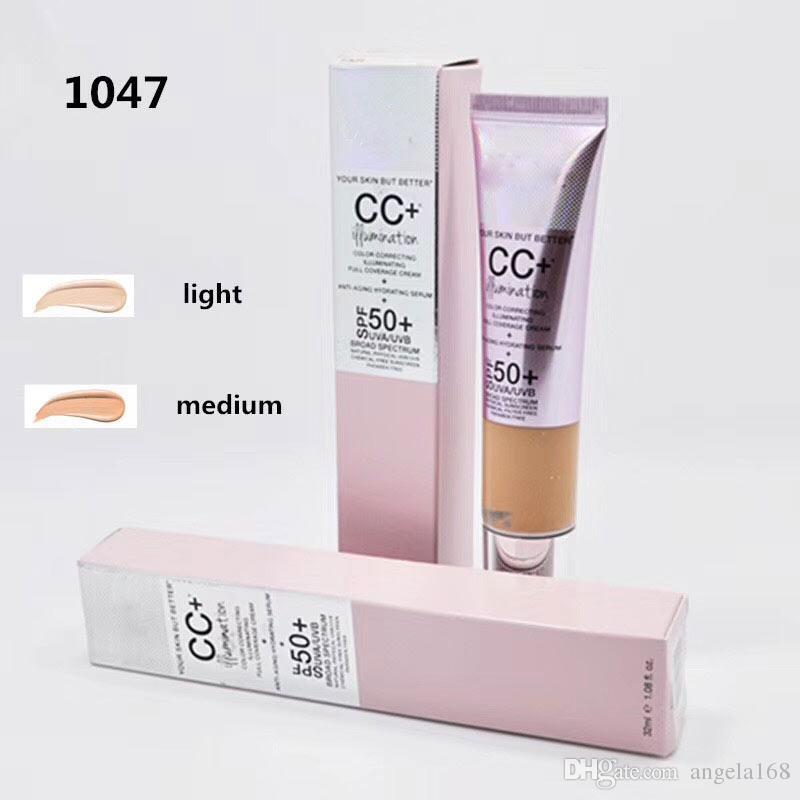 Brand makeup your skin but better Face Skin Concealer Cream Illumination New CC Cream Foundation Primer 2 Color Light / Medium Free Shipping