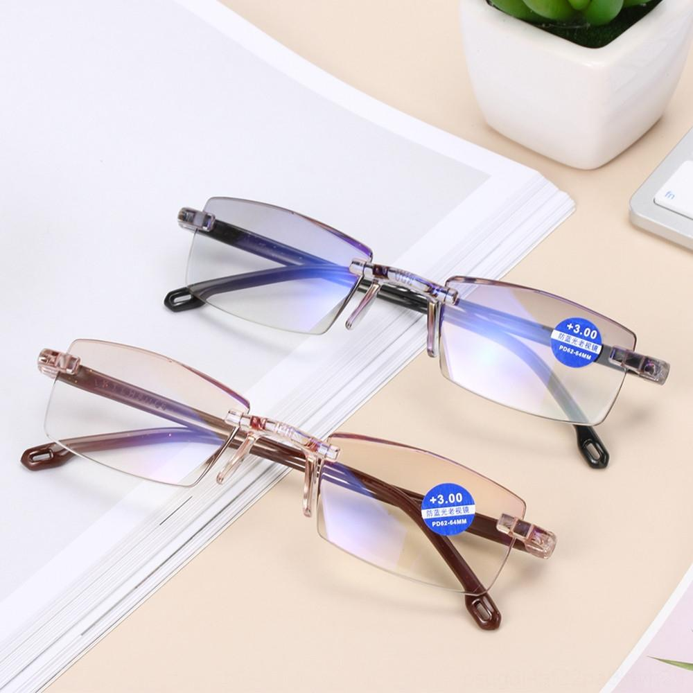 100400 Degree Unisex Ultra Light Rimless Reading Glasses Anti Blueray Radiation Other Fashion Accessories Protection Presbyopia Computer Go