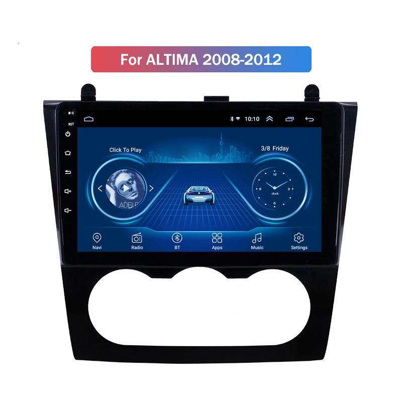 10.1 polegadas Android 10 Para Nissan Altima Radio Audio Video Multimedia System 2008-2012 Car Navegação GPS