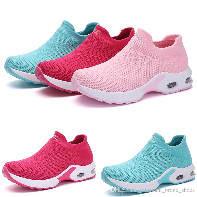 Drop shipping BLUE PINK GREEN RED GIRL KIND3 WOMENS women Running Shoes LADY Simple Brand low cut fashion Designer trainers Sports Sneakers