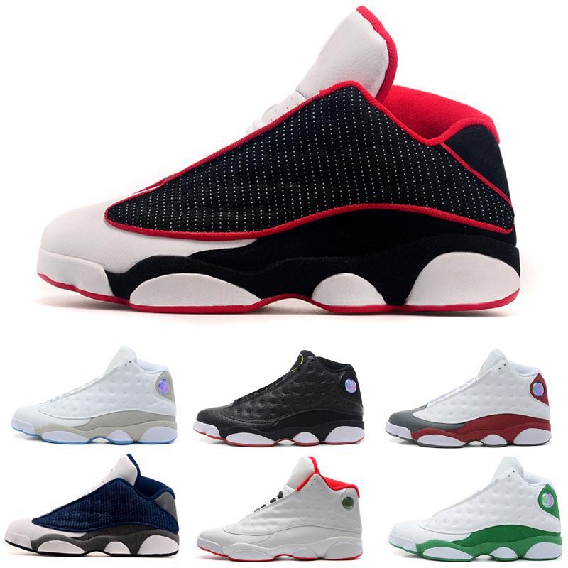 Nova reverso jogo que ele tem sapatos 13 13s homens de basquete dos homens do tampão e do vestido criado Ele obteve a jogo Sneakers Botas US 7-13