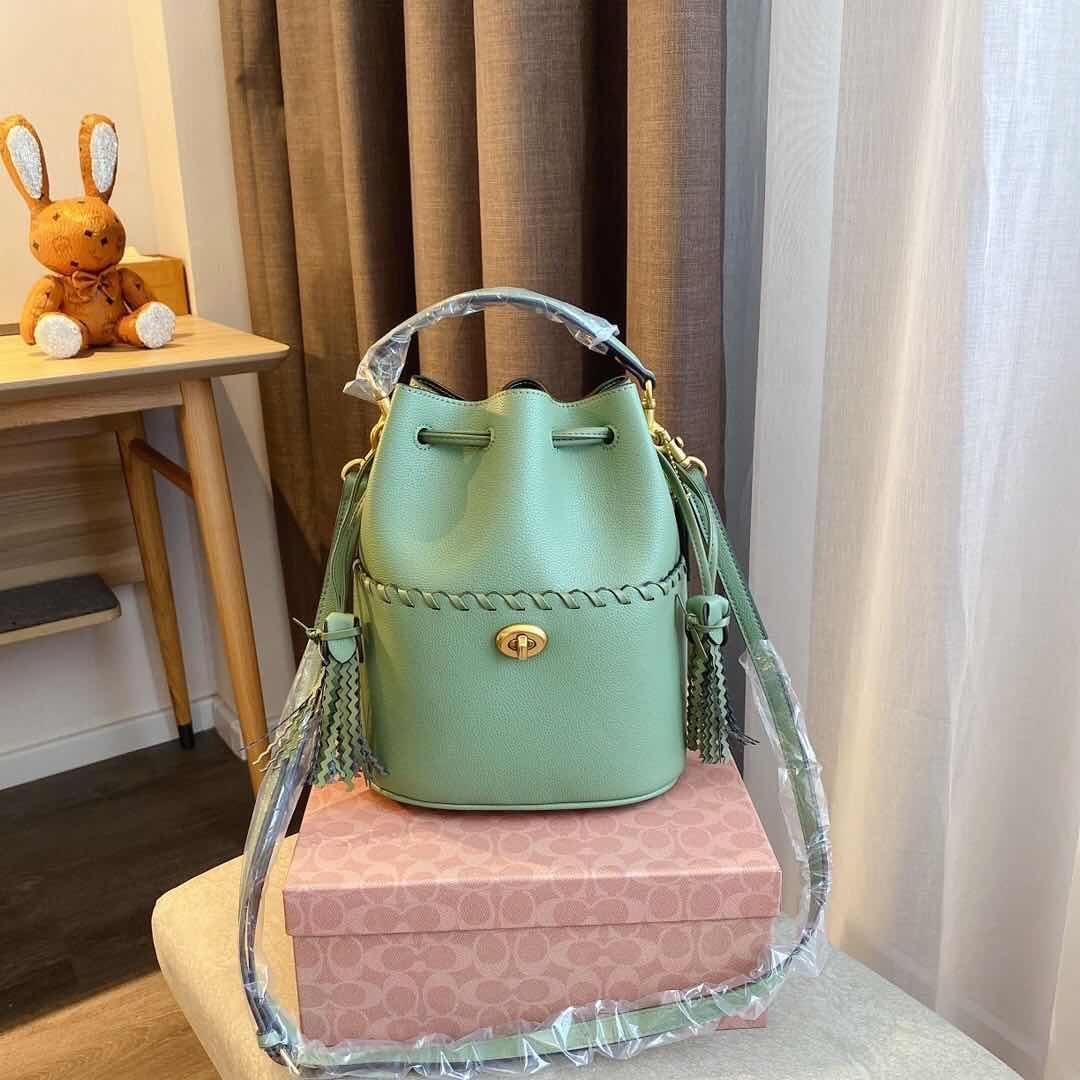 Luxo clássico Bucket Bolsa designer bolsas Bolsa de Ombro Tote Impressão Flores Shopping Bag real Leather Messenger Bag Crossbody G322