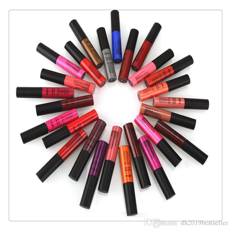 Lip Gloss Long Lasting Natural Nonstick Moisturizing Liquid Lipstick Matte Lip Gloss Lipstick Cosmetic 34 Colors Women Girls
