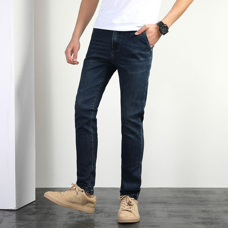 2019 Jeans Uomo Elastic Force Pantaloni Easy Will Codice direttamente Canister Xia Contracted Pants 1905