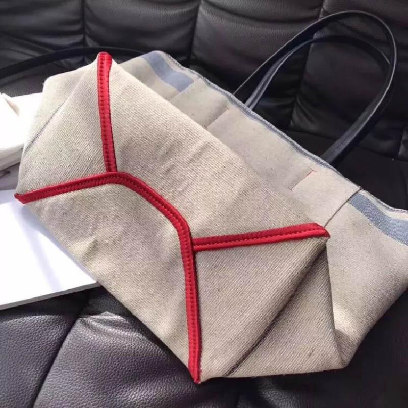 Diseñador-2019 Classic famoso diseño de la buena calidad de asas de la lona de la capacidad grande bolso de compras del hombro Bolso de la playa bolsa