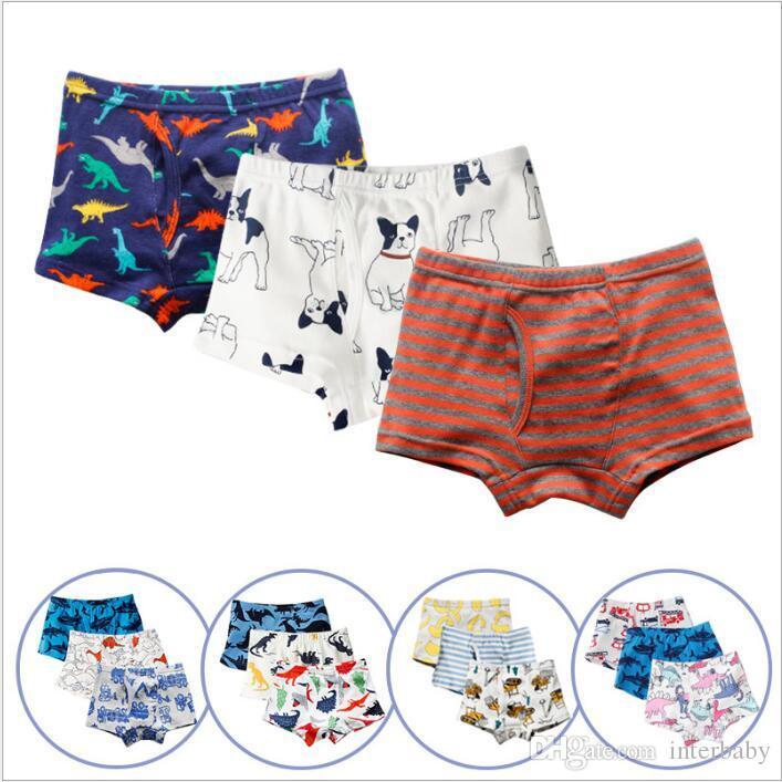 Animal Toddler Baby Kid Girl Boy Underwear Cotton Panties Short Briefs Underpant