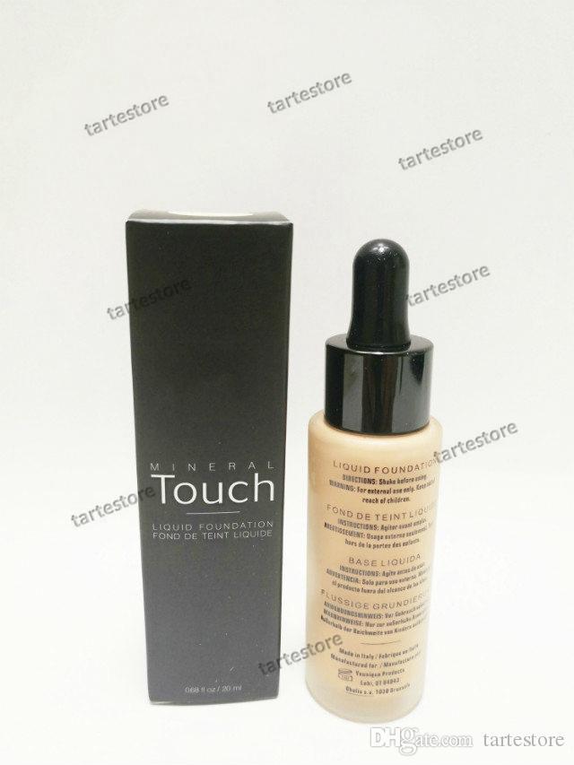 Жидкий тональный крем 10 цветов Touch Foundation Concealer Cream Уход за кожей лица Увлажняющий корректор Профессиональный макияж 20мл