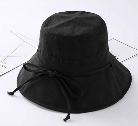 9eefa1b8bb5573 Fashion Bucket hat Summer Beach Hat Wide Brim for Women Foldable Fisherman  floppy beach Sun Hat ...