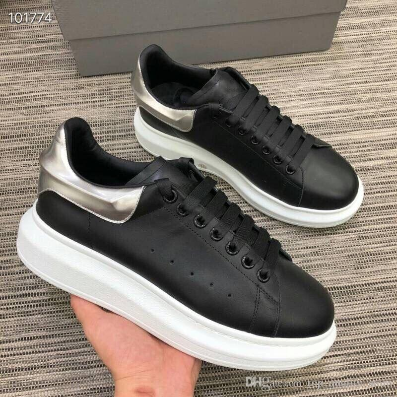 2019Casual ayakkabı İNGILTERE erkek tasarımcı ayakkabı 2019 moda lüks tasarımcı kadın ayakkabı Parti Platformu rahat sneakers EUR Boyutu 35-44