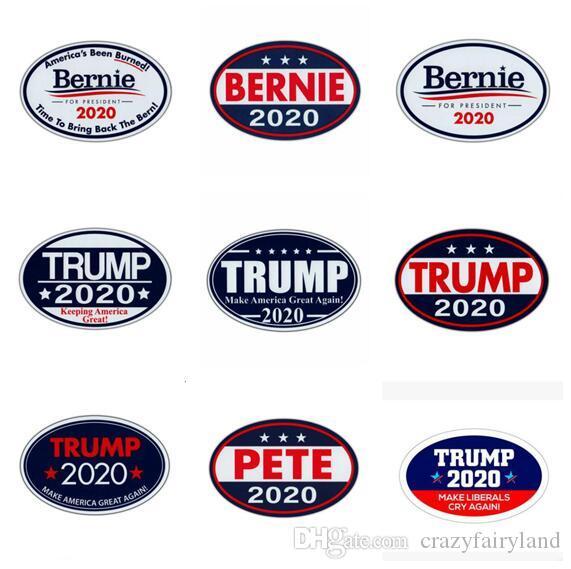 Dekorasyon Mıknatıs Buzdolabı çıkartması 12 Stilleri için dolabı Magnet Mutfak Aletleri Trump dolabı Mıknatıslar Ev Dekorasyonu Amerikan Seçim Trump 2020