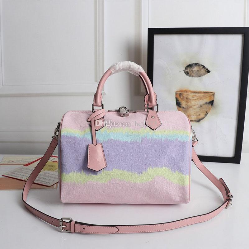 نساء حقائب اليد أزياء المرأة حقائب الكتف عالية الجودة اليد حار نمط جديد حمل نمط الحجم 30x21x17cm