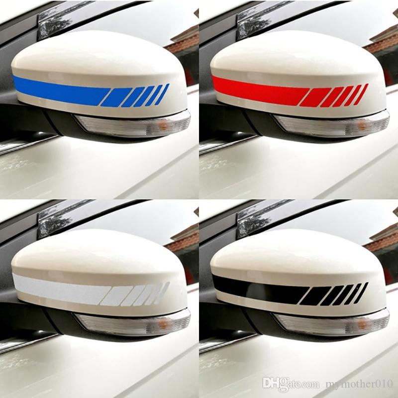 سيارة التصميم السيارات SUV الفينيل الجرافيك ملصق سيارة مرآة الرؤية الخلفية الجانبية ملصق الشريط DIY سيارة الشارات الجسم