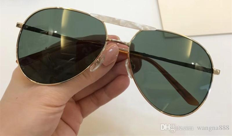 0242S Sunglasses Luxury Women Designer Popular Fashion Oval Summer Style With The Bees Top Quality UV Protection Lens Come With Case