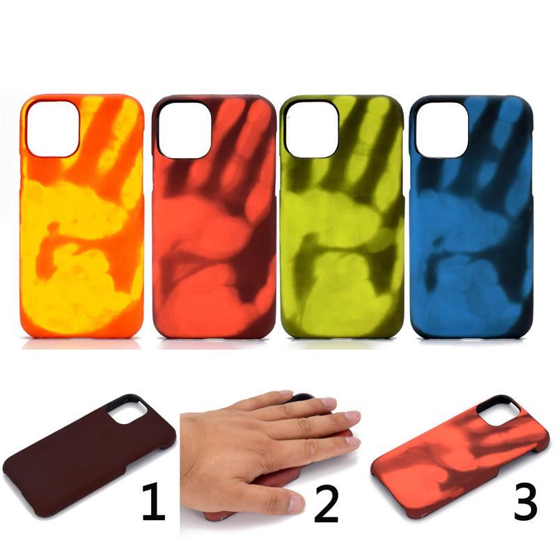 Case For Iphone 11 Pro Max Funny Thermal Sensor Cover For Iphone Xr Xs 8 7  Plus Fashion Physical Thermal Discoloration Shell Cell Phone Cases Cheap  Custom Leather Cell Phone Cases From