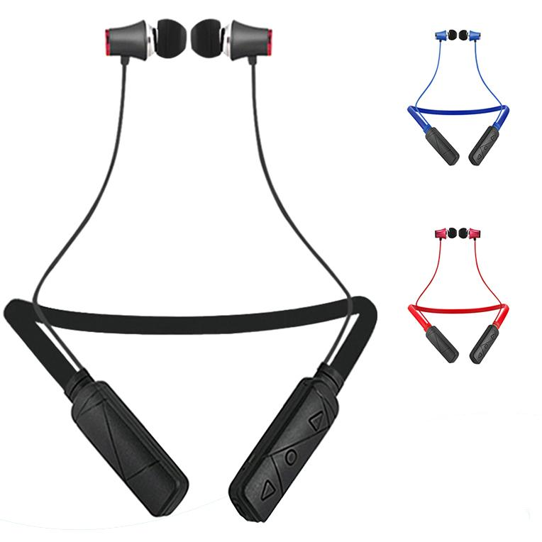 HWS610 Earphone Necklace Bluetooth Headset Earphone Sports Bluetooth High Quality With Package for smartwatch Samsung Note8 huawei LG