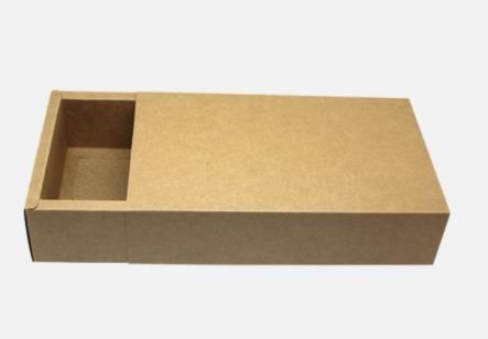 كرافت ورقة مربع درج / الشاي / مستحضرات التجميل / هدية / الصابون اليدوية / مربع التعبئة والتغليف صناديق الغذاء