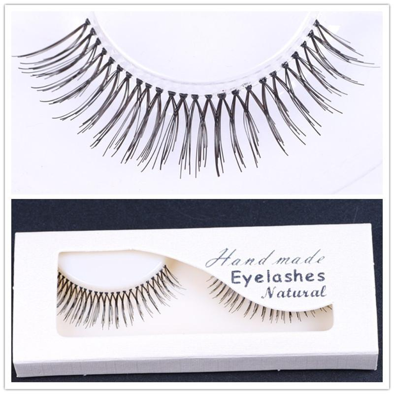 High quality single and double false eyelashes handmade professional cosmetics tools