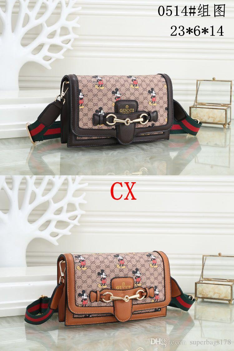 Acreditación CX 0514 Mejor alta calidad del precio de las mujeres solas señoras de totalizador del bolso del morral del hombro del bolso del monedero