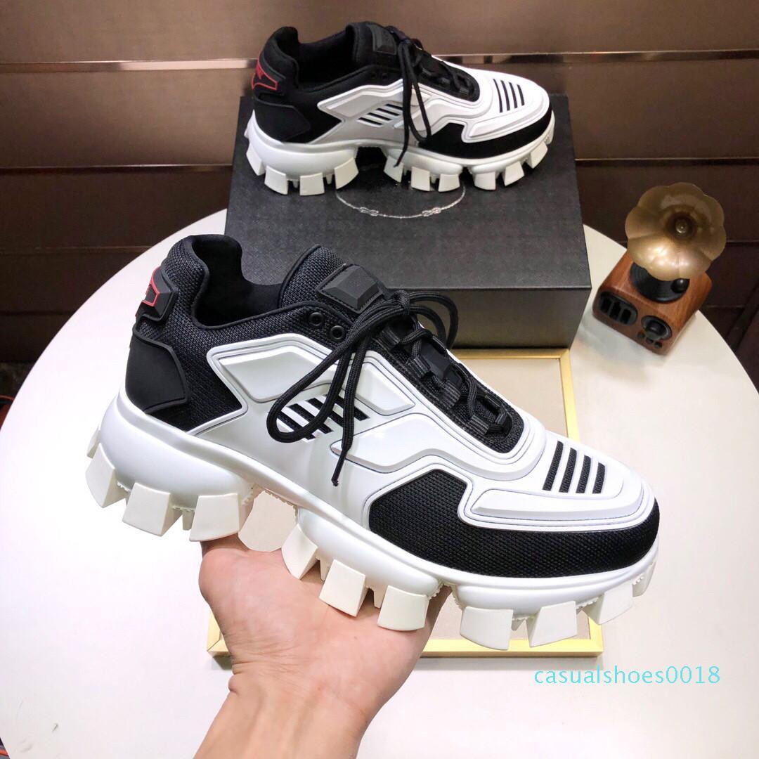 2019 uomini bassi Scarpe casual Lates Cloudbust Thunder Lace up scarpe da tennis 19FW serie capsula sneakers piattaforma di lusso a C18 degli uomini di corrispondenza di colore