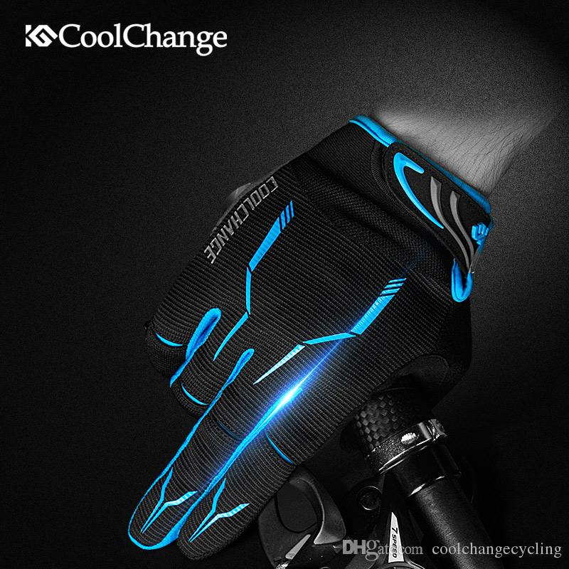 Winter Cycling Full Finger Gloves Road Mountain Bike Touch Screen Mittens Mitts