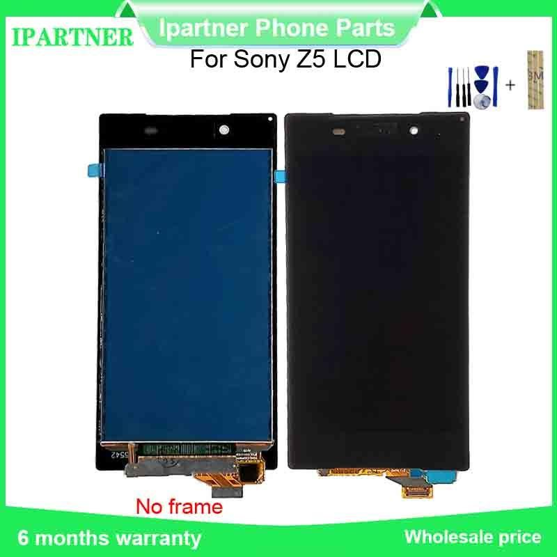 For Sony For Xperia Z5 E6653 E6603 E6633 E6683 LCD DIsplay Touch Screen Digitizer Assembly Replacement Parts