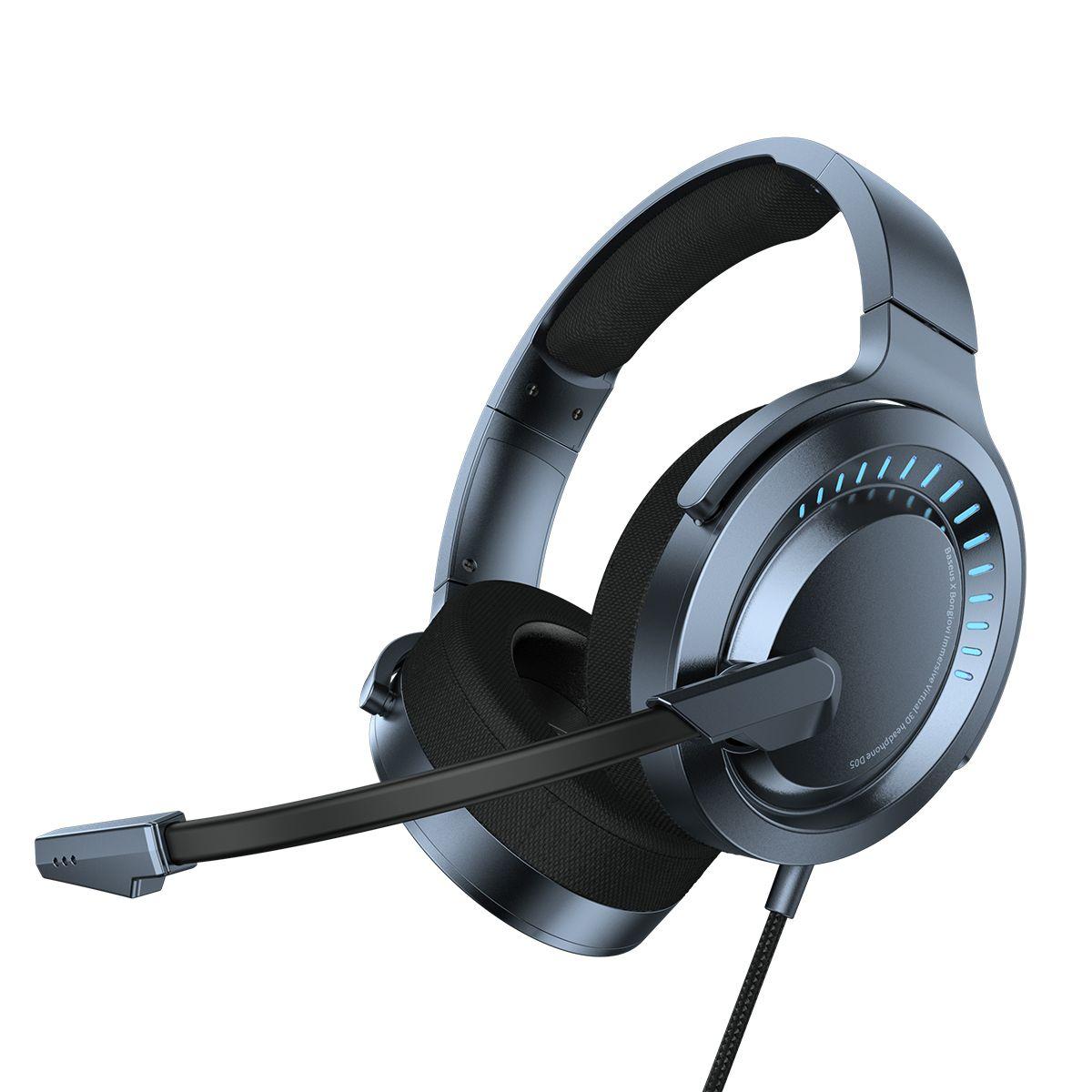 Marke Authentic Spiel-Kopfhörer Bunte RGB Atem Licht Kopfhörer Einstellbare Game Music-Modus Headsets mit HD-Mikrofon mit Box