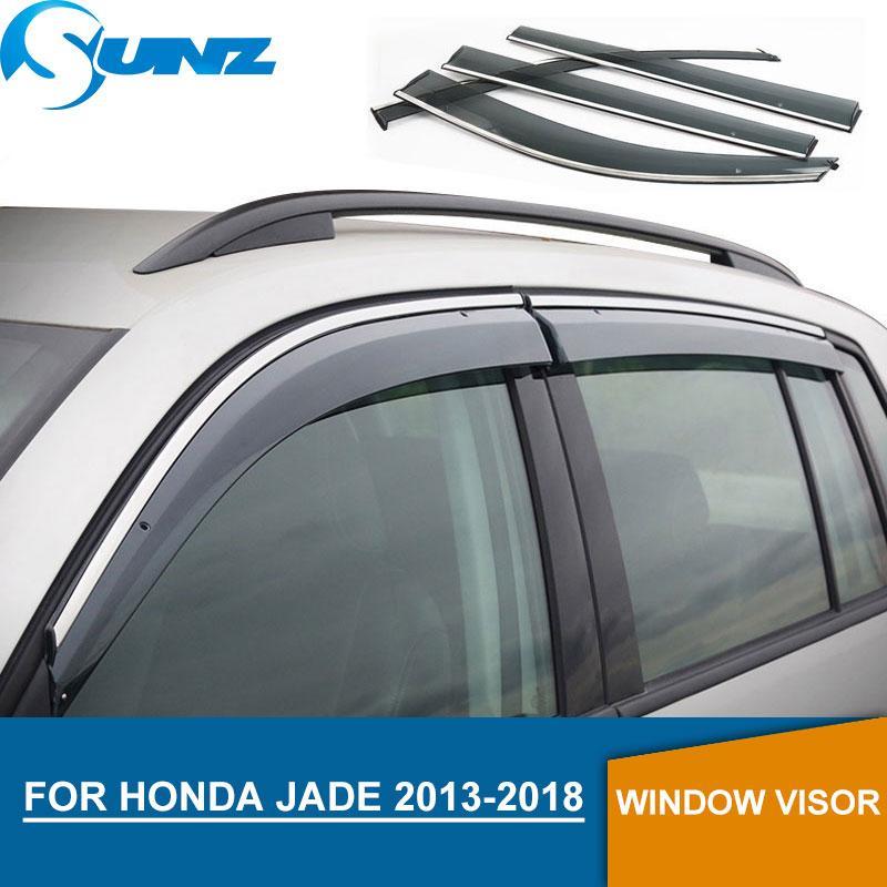 Window Visor per Honda JADE 2013-2018 deflettori per vetri laterali parapioggia per Honda JADE 2013 2014 2015 2016 2017 2018 SUNZ