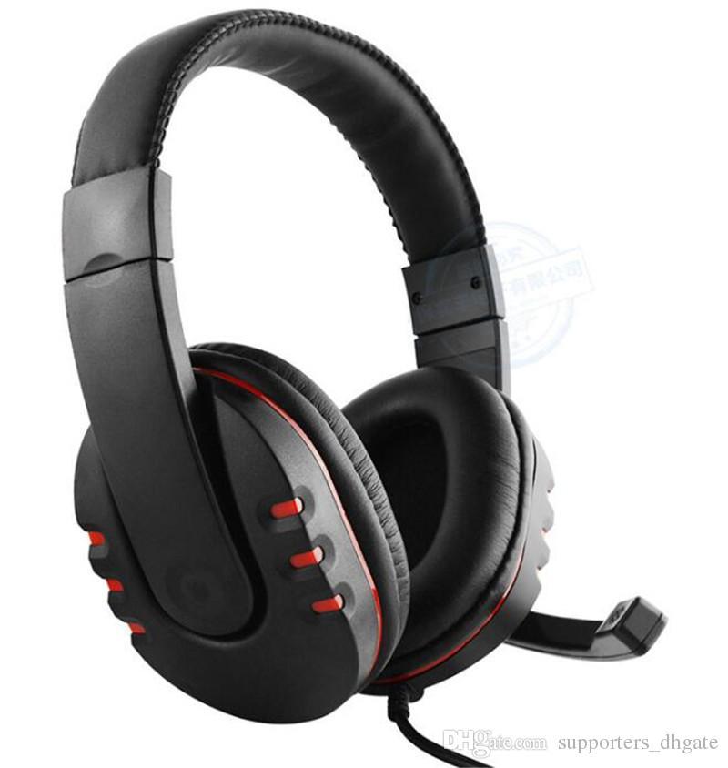 لعبة سماعة الأدوات الألعاب سماعات أذن 3.5 ملليمتر خطيرة خطيرة باس ستيريو mic للكمبيوتر xbox one ps4 ps3 الهاتف الخليوي الكمبيوتر مجانا 1 قطع