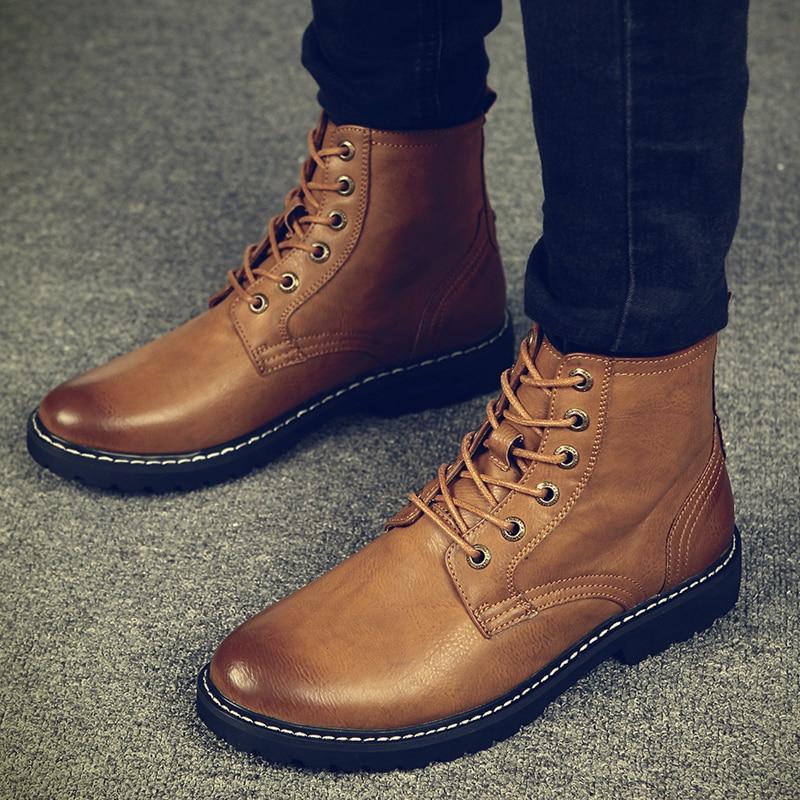 Warm Men Winter Boots For Man Warm