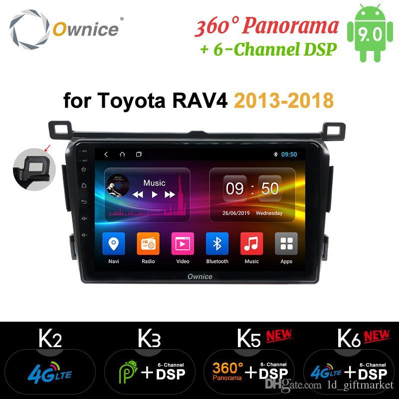 Ownice 4G DSP 2 Din Android 9.0 GPS voiture lecteur dvd pour Toyota RAV4 Rav 4 2013 2014 2015 2016 2017 2018