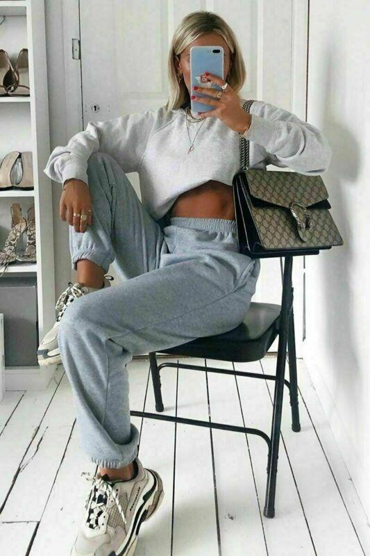 Frauen lose beiläufige Jogginghose Damen Anzug Jogger Tanzlauf Harem-lange Hosen Lounge Fitnessbekleidung Baggy Trousers