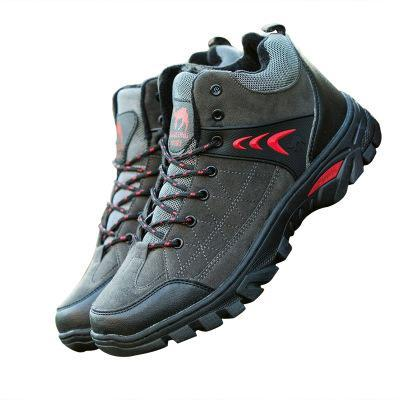 2019 scarpe casuali nuovi uomini di modo, velluto add inverno scarpe da alpinismo scarpe per il tempo libero antiscivolo in esecuzione, europei e moda americana