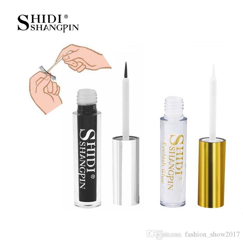 Shidishangpin 1 pcs Cleon Colle de cils 5ml Colle Colle Clear Noir Colles Colles Gold Cils Cils Coleux Embouts Outils cosmétiques Primer pour cils