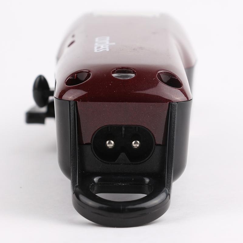 8148 magia rossa capelli elettrico Clipper regolatore dei capelli Macchina di taglio della barba barbiere per uomo Style Tools Cutter professionale a batteria portatile