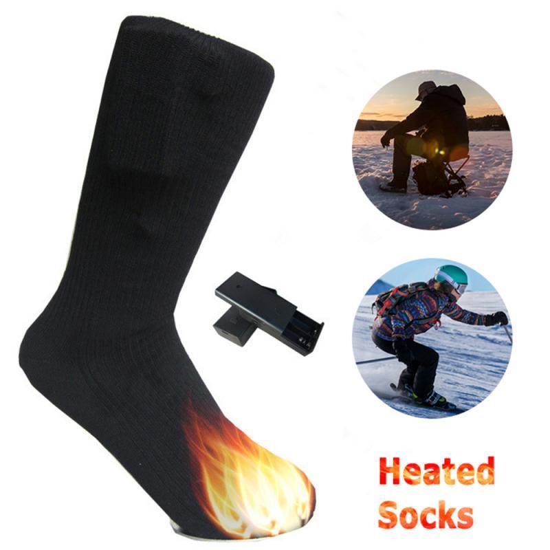 Auto calentamiento calentadas calcetines caliente en invierno Auto - El calentamiento del dedo del pie calcetines calientes para prevenir frío y frío invierno empeine Necesidad de calor