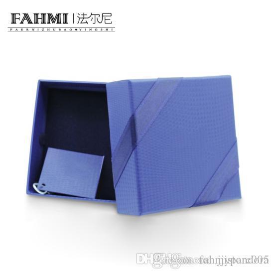 FAHMI Classic Jewelry Protection Box Fashion Elegant High-end Jewelry Storage Box Gift Inner Packaging Original Women Jewelry