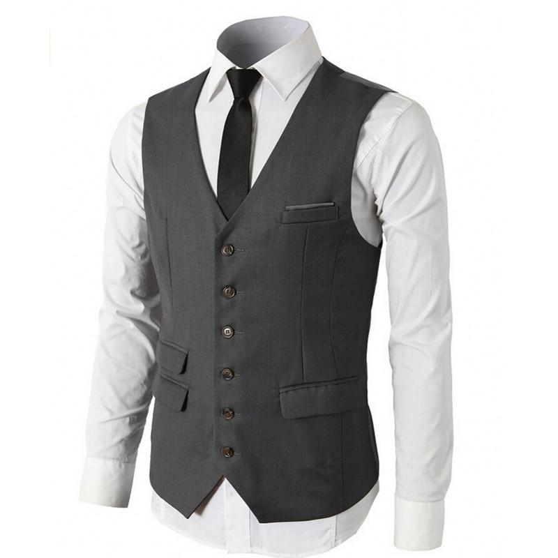 New Products Men's Suits Vests Groom's Godfather Vests Customize Size and Color Slim Best Men's Wedding Grooms